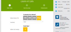 Lokata HIT Idea Bank dane lokaty
